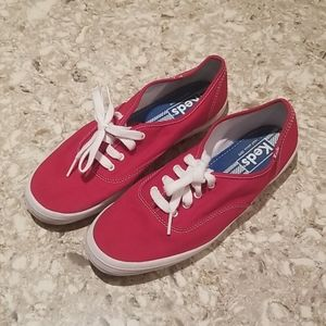 Keds Red Women's Lace-Up Sneakers  Size 9